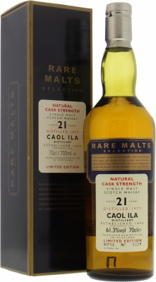 Caol Ila - 21 Years Old Rare Malts Selection 61.3% 1977