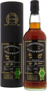 20 Years Old Cadenhead Authentic Collection 53.2%