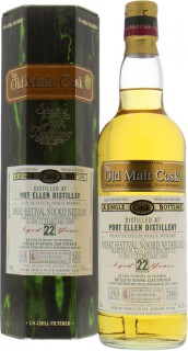 Port Ellen - 22 Years Old Douglas Laing  Old Malt Cask DL 2398 54.3%