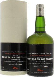 Port Ellen - Douglas Laing The Whisky Shop 10th Anniversary Bottling 57.9%