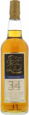 34 Years Old The Single Malts of Scotland Cask 1856 54.7%Glen Grant -