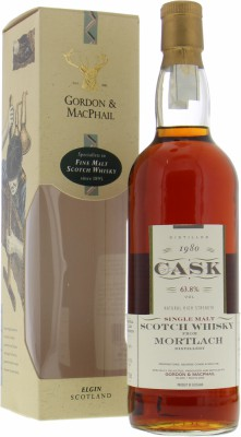 Mortlach - 21 Years Old Gordon & MacPhail Cask Series Cask 3646 63.8% 1980