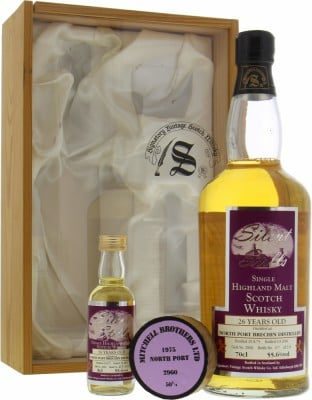 North Port - 26 Years Old Brechin Signatory Vintage Silent Stills Cask 2960 55.6% 1975