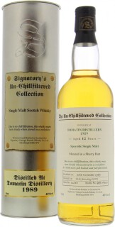 12 Years Old Signatory Vintage Cask 11640 46%