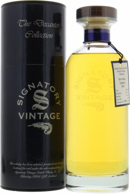 Ben Nevis - 15 Years Old Signatory Vintage Decanter Collection Cask 2689 43% 1993