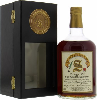 Glendronach - 20 Years Old Signatory Vintage Collection Dumpy Cask 513-518 56% 1970
