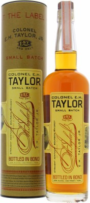 Colonel E.H.Taylor Small Batch Bottled in Bond 50%Buffalo Trace -