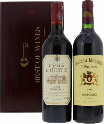 Wine gift - Gift set Margaux 2002