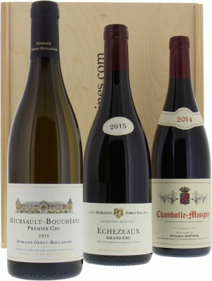 Wine gift - Gift set Bourgogne wines NV
