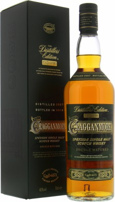 Cragganmore - 12 Years Old The Distillers Edition 2019 40% NV