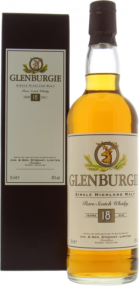 Glenburgie - 18 Years Old Rare Scotch Whisky 43% NV