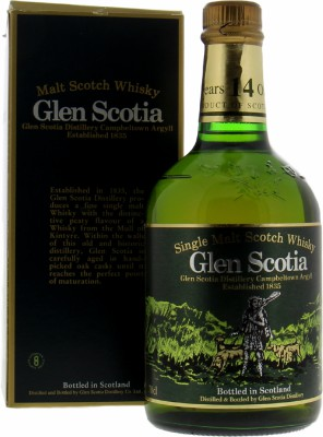 Glen Scotia  - 14 Years Dumpy Bottle 40% NV