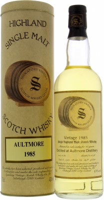 10 Years Old Signatory Vintage Cask 2905 43%Aultmore -