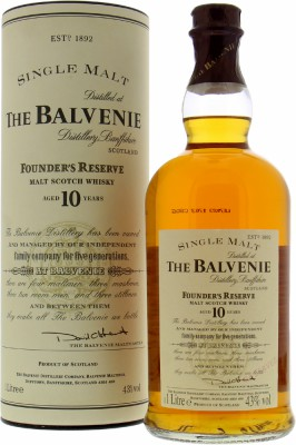 Balvenie - 10 Years Old Founder's Reserve 43% NV