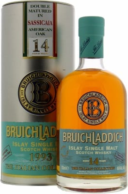 Bruichladdich - The Italian Collection Sassicaia American Oak 46% 1993