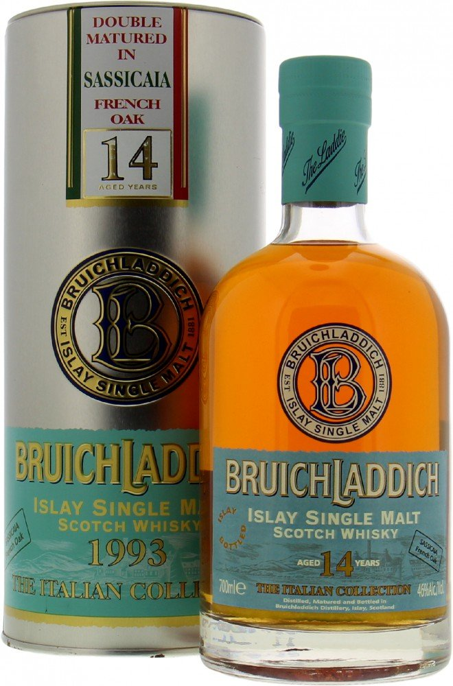 Bruichladdich - The Italian Collection Sassicaia French Oak 46% 1993
