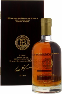 Bruichladdich - 35 Years Old 125 Anniversary of Bruichladdich Distillery 40.1% 1970