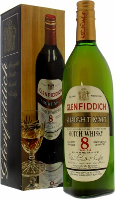Glenfiddich - 8 Years Old Straight Malt 43% NV