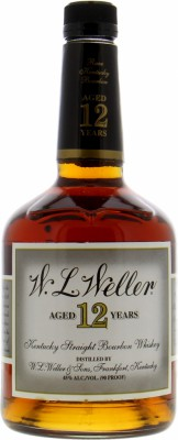 W.L. Weller 12 Years Old Vintage Label 45%Buffalo Trace -