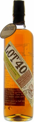 Lot No. 40 43%Corby Spirit and Wine Ltd. -