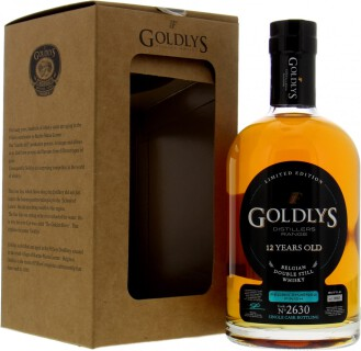 Graanstokerij Filliers - Goldlys 12 Years Old Distillers Range Limited Edition Cask 2630 43%