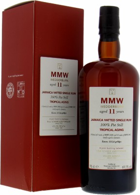 Scheer & Verlier - MMW Wederburn 11 Years Old Tropical Aging 69.1% 2008