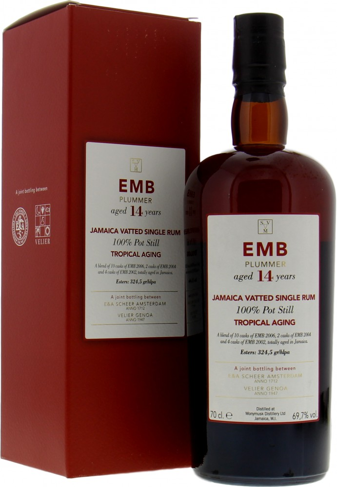 Scheer & Verlier - EMB Plummer 14 Years Old Tropical Aging 69.7% 2005