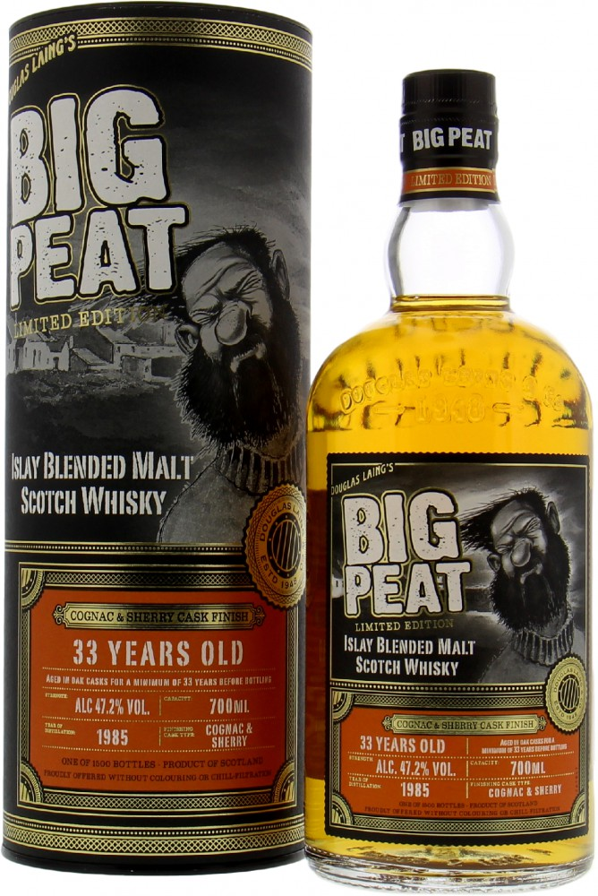 Douglas Laing - Big Peat 33 Years Old Small Batch 47.2% NV
