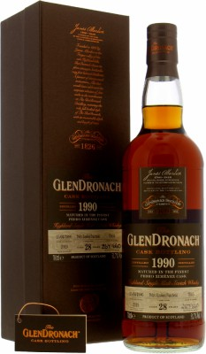 Glendronach - 28 Years Old Batch 17 Cask 7905 51.7% 1990