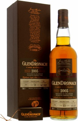 13 Years Old Batch 17 Cask 887 55.1%Glendronach -