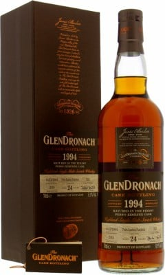 24 Years Old Batch 17 Cask 325 51.9%Glendronach -