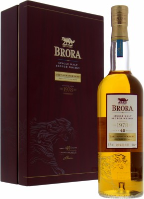 Brora - 40 Years Old 200th Anniversary 49.2% 1978