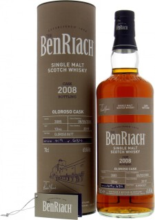 BenRiach - 10 Years Old Batch 16 Cask 3085 61.6%