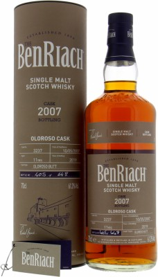 BenRiach - 11 Years Old Batch 16 Cask 3237 61.2% 2007