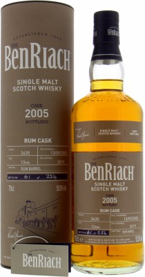 13 Years Old Batch 16 Cask 3435 55%BenRiach -