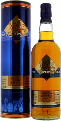 45 Years Old Cooper's Choice Cask 804 40.5%Lochside -