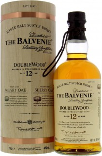 Balvenie - 12 Years DoubleWood 2015 In Wooden Container 40%