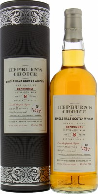 8 Years Old Hepburn's Choice 46%Benrinnes -
