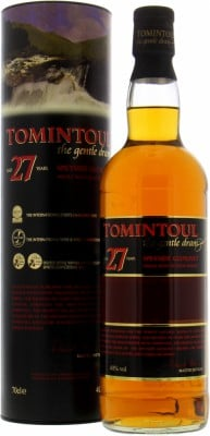 Tomintoul - 27 Years Old 40% NV