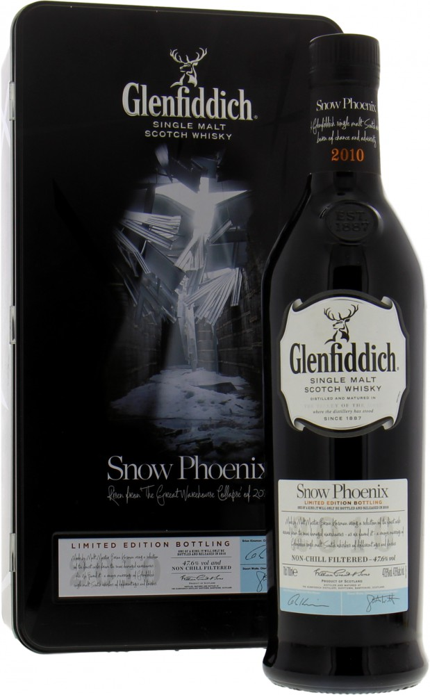 Glenfiddich - Snow Phoenix 2010 47.6% NV