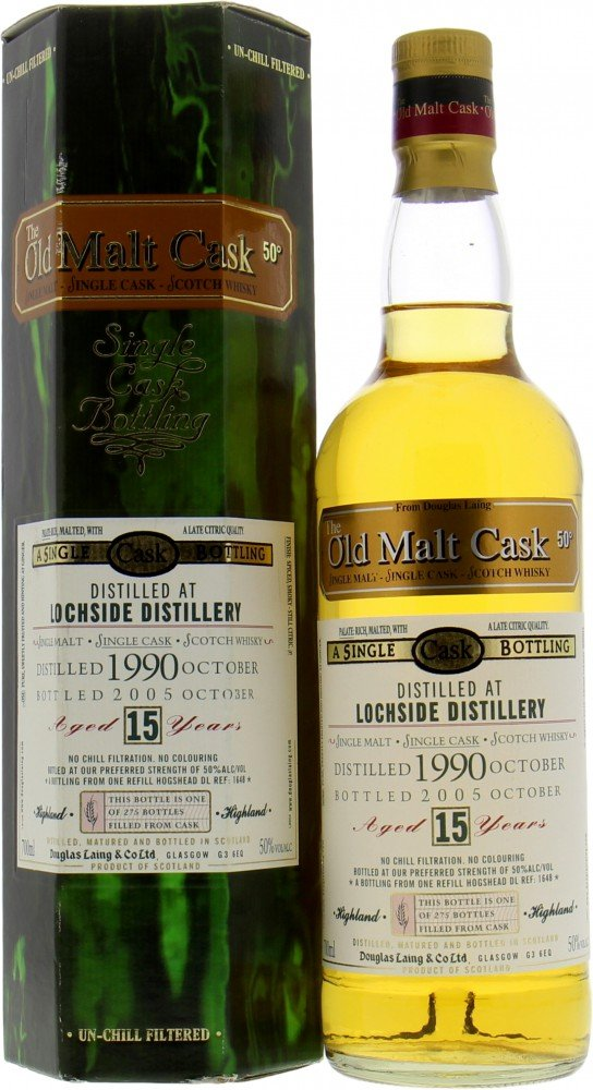 Lochside - 15 Years Old Malt Cask DL1648 50%