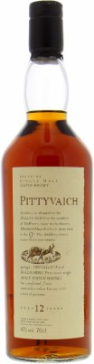 12 Years Old Flora & Fauna 43%Pittyvaich -