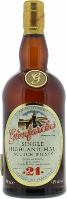 Glenfarclas - 21 Years Old Golden G 43% NV