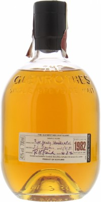 Glenrothes - 1982 Approved: 20.08.96 43% 1982