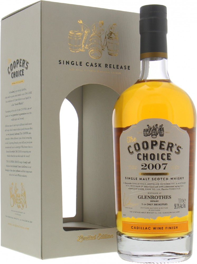 Glenrothes - 12 Years Old Cooper's Choice 56.3%