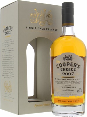 12 Years Old Cooper's Choice 56.3%Glenrothes -