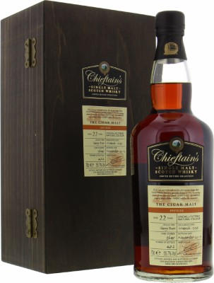 Ian Macleod - The Cigar Malt 22 Years Old Cask 3645 55.7% 1997