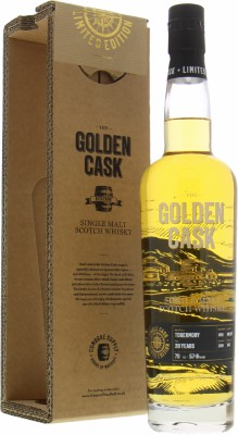 20 Years Old The Golden Cask Reserve Cask CM227 57.8%Tobermory -