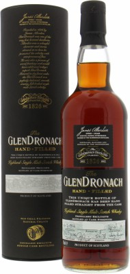 25 Years Old Hand-filled at the distillery Single Cask 5086 54.7%Glendronach -