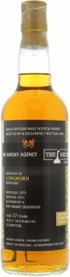 Longmorn - 37 Years Old The Whisky Agency 58% 1973